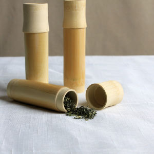 Eco-Friendly Bamboo Storage Tube/Canister for Tea pictures & photos