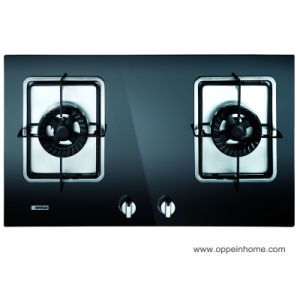 Oppein Doubel Burners Stainless Steel Gas Stove (Jz (Y. T. R) Q305) pictures & photos