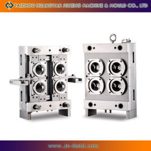 4 Cavity Valve Gate Hot Runner Pet Preform Mould