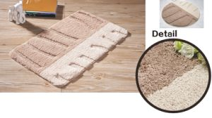 Microfiber Tufted Rugs, Super Soft and Absorbent C1307 pictures & photos