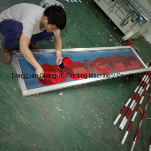 Long Pole Silk Screen Printing Machine pictures & photos