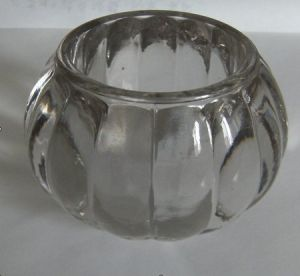 Stocks Clear Pumpkin Shaped Glass Candle Holder pictures & photos