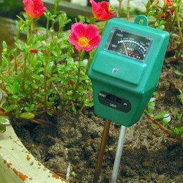 3 in 1 pH/Moisture/Sunlight Plant Mate Meter (ETP306) pictures & photos