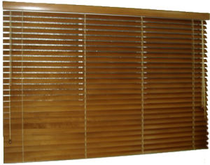 35mm Window Bamboo Venetian Blinds with Horizotal Window Treatment pictures & photos