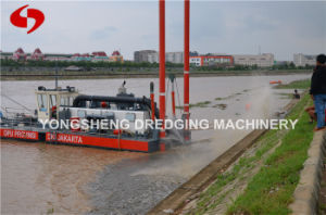 Pump Desilting Dredger in China pictures & photos