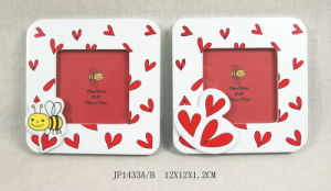 Hot Wooden Valentine Picture Frames in MDF pictures & photos