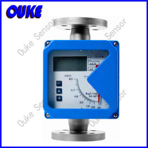 LCD Display Metal Tube Rotameter for Oil and Gas pictures & photos