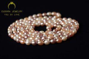 Fashion Female Beautiful Freshwater Pearl Necklace (XL0801)