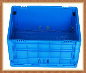 Popular Plastic Floding Folding Storage Container with Various Size pictures & photos