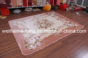 Raschel Mink Polyester Prayer Shaggy Carpet pictures & photos