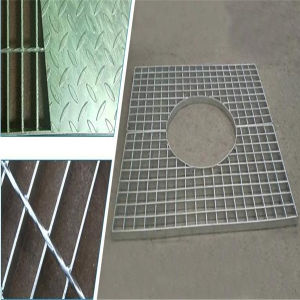 Hot Galvanized Steel Bar Grating pictures & photos