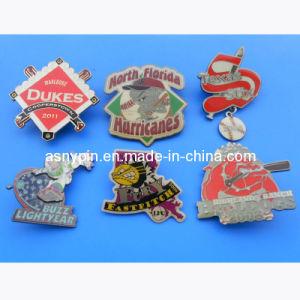 2014 Custom Baseball Enamel Metal Trading Pin Badges pictures & photos