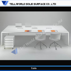 Solid Surface Commercial Office Conference Table (TW-MATB-055) pictures & photos