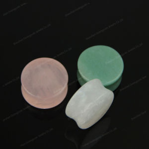 Natural Gemstone Ear Plug