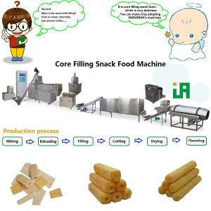 Core Filling Snack Processing Line (TSE65-CF)