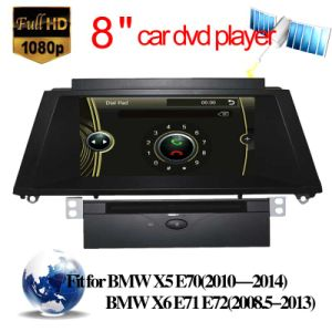 Car Audio for BMW X5 E70/X6 E71 E72 with Radio GPS DVD Player (HL-8825GB) pictures & photos