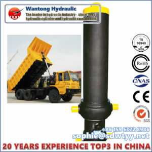 Front-End Telescopic Hydraulic Cylinders for Dump Truck pictures & photos