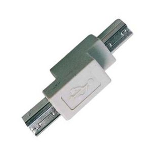 USB B Type Plug to Plug Adapter pictures & photos