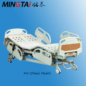 Linak Motors Five Functions M5 ICU Electric Hospital Bed with CE (Classic Model) pictures & photos