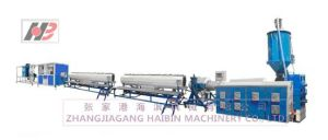 PE Large Diameter Pipe High-Speed Production Line