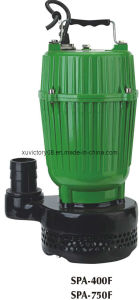 SPA Aluminium Body Clean Water Submersible Pump (QDX 15-7-0.75(SPA750)) pictures & photos