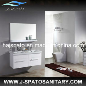 2013 New Design Double Sink Wall Bathroom Vanity Cabinet (JS-9012)