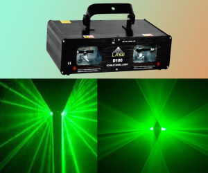 100MW Green Double Laser Light for Club Disco (D100)