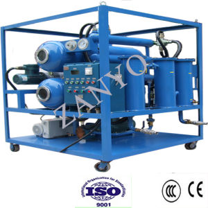 Two Horizontal Evaporators Double-Stage Vacuum Insulation Oil Purifier pictures & photos