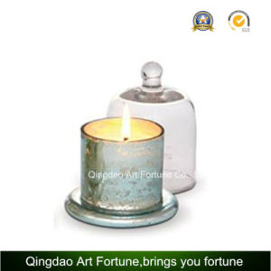 Hot Sale Glass Candle Jar with Cloche Home Decor pictures & photos