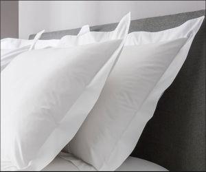 100% Cotton Plain White Hotel Pillowcase pictures & photos