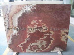 Fantastico Red/ Volcano Red Onyx Slab/