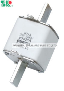 HRC Gg 630A Nh3 (NT3) Low Voltage Knife Fuse Link pictures & photos