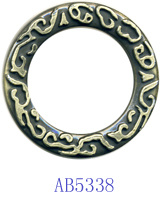 Zinc Alloy Circle for Garment-Ab5338 pictures & photos