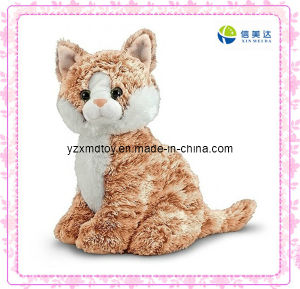 Lifelike Brown Cat Plush Stuffed Toys pictures & photos