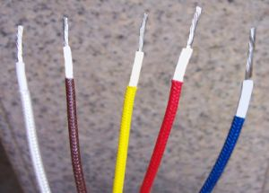 Heat Resistant Fiberglass Braided Cable / Wire pictures & photos