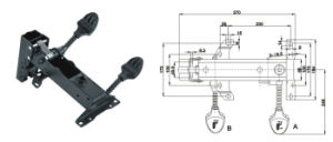 Heavy-Duty Chair Mechanism Jb-441b