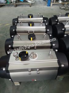 Different Seal Material High and Low Temperature Bt Pneumatic Actuator pictures & photos