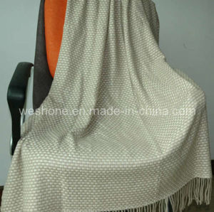 Wool Throw, Wool Blanket, Throw (CMT-0901075) pictures & photos