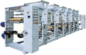 One-to-Eight Color Gravure Plastic Film Printing Machine Unit (GY-AY) pictures & photos