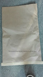Recyclable Moistureproof Kraft Paper Bag PP Laminated for Albumen Powder pictures & photos