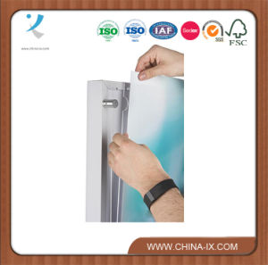 Poster Holder with 5 Pamphlet Compartments with Adjustable Pockets pictures & photos