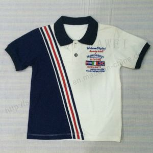 Mix Color Boy Polo Shirt in Children Clothing Sq-6307 pictures & photos