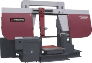 Dual Column Gantry Band Saw (H-80/100) pictures & photos