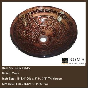 Bathroom Bowl Sinks on Bathroom Bowl Sink  Gs G0445    China Bowl Sink  Vessel Sink