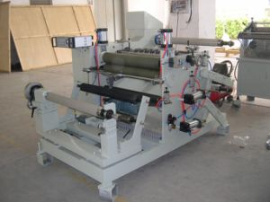 Adhesive Printed Label Converting Machine (Slitting Rewinding) pictures & photos