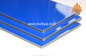 Glossy Matt White Black Two Double Sides PE Coating Coated Acm ACP Aluminium Composite Panel Sign Material pictures & photos