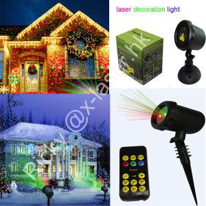 Sensor Laser Garden Light for Christmas Tree House Building Decoration pictures & photos