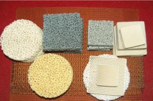 Top Quality Al2O3/Sic/Zirconia/MGO Ceramic Foam Filter pictures & photos