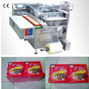 Full Automatic Mosquito Coil Box Cellophane Wrapping Machine pictures & photos
