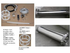 "Ss Membrane Housing 8"" (Water purification, SS pressure vessel, water treatment parts) pictures & photos"